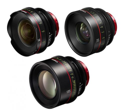 Canon EF Primes Bundle 24/35/135 (M)