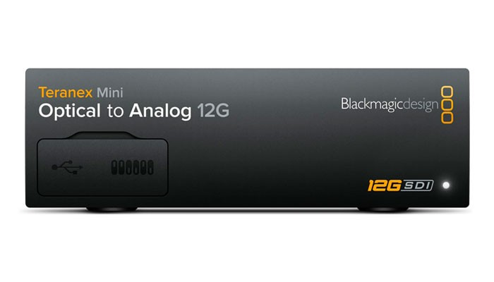 Blackmagic Teranex Mini - Optical to Analog 12G