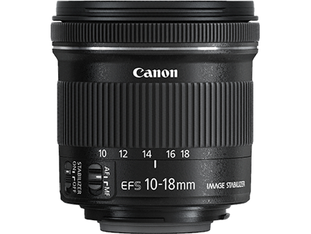 Canon EF-S 10-18 F/4.5-5.6 IS STM
