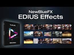 GV NewBlue EDIUS Effects