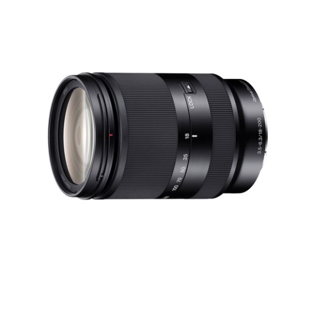 Sony Objetiva SEL18200LE Zoom