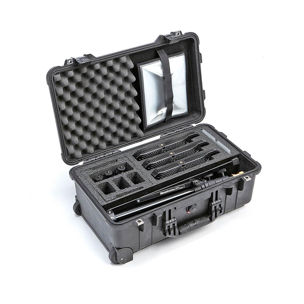 Litepanels Lykos+ BiColor Flight Kit