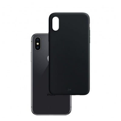 Capa Silicone 3MK Matt Case para iPhone X/XS