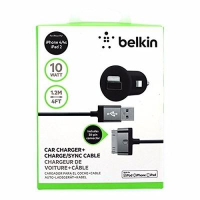 Carregador de isqueiro USB Belkin 2.1A + Cabo iPhone