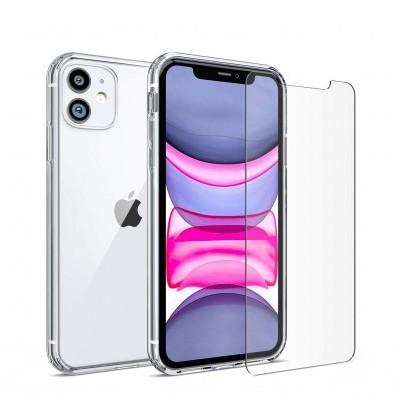 iPhone 11 Capa Ultra-Fina Silicone Transparente