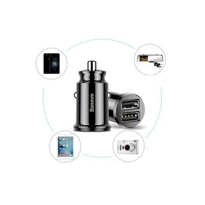 Carregador de isqueiro 2x USB 3.1A Grain Mini