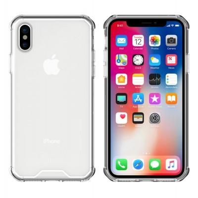 iPhone X/XS Capa Frame Anti-Shock 100% Transparente