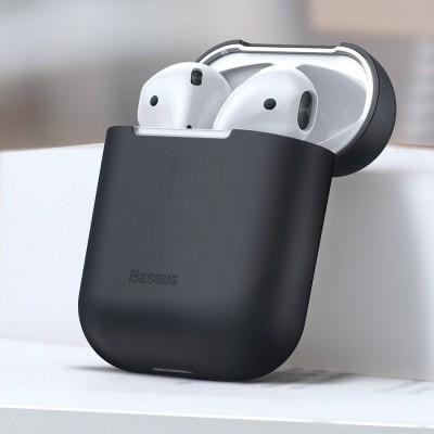 Capa Silicone Ultra Fina Baseus para AirPods