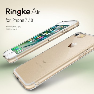iPhone 7/8 Capa Fina Silicone Ringke Air