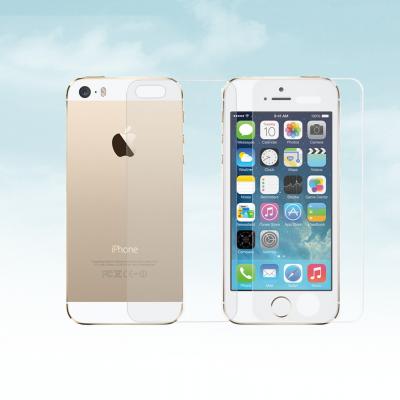 Películas de Protecção Frente e Trás 100% Transparentes iPhone 5/5S/SE