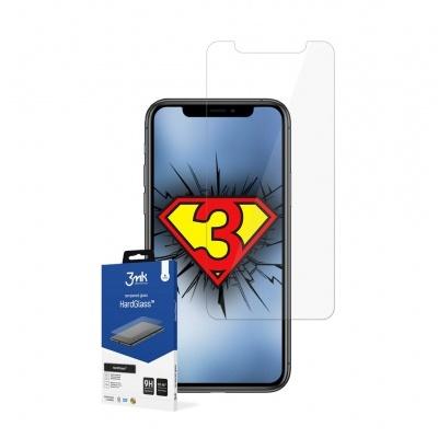 Película de Protecção em Vidro Temperado 3MK HardGlass para iPhone 11 Pro