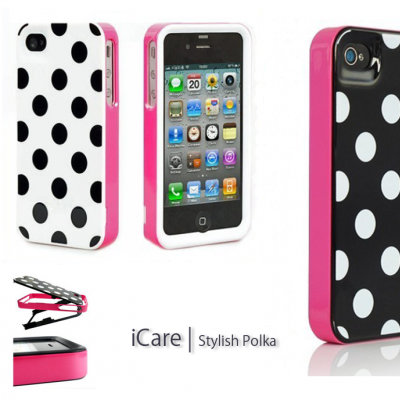 iPhone 4/4S Capa Dots Stylish