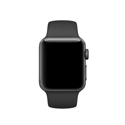 Apple Watch - Bracelete desportiva preta (38mm)