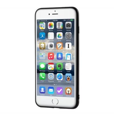 iPhone 7/8 Plus Capa Fina Silicone Preto Mate