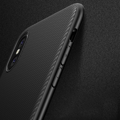 iPhone XS Max Capa Carbono iPaky