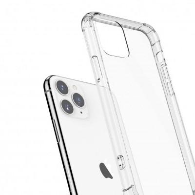iPhone 11 Pro Capa Silicone Fina Anti-Shock 100% Transparente