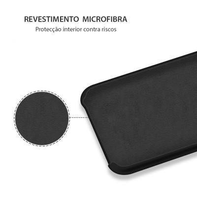 iPhone X Capa Silicone Rígido Premium Rubberized OEM