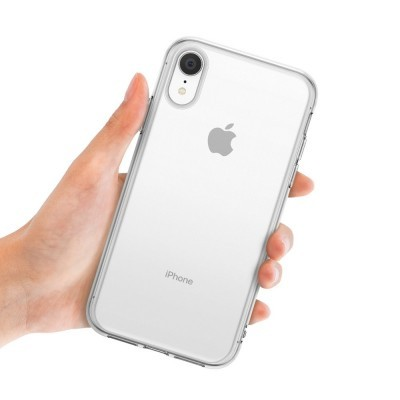 iPhone XR Capa Fina Ringke Air Silicone 100% Transparente