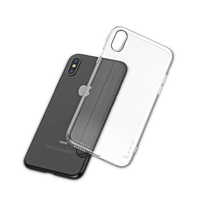 iPhone XS Max Capa Silicone iPaky Effort + Vidro Temperado