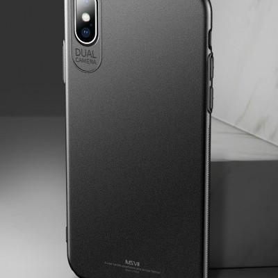 iPhone XS Max Capa Ultra-Fina Frosted (As capas rígidas mais finas do mercado)