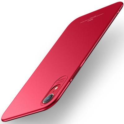 iPhone XR Capa Ultra-Fina Frosted (As capas rígidas mais finas do mercado)