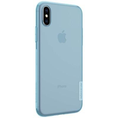 iPhone X/XS Capa Super Fina Silicone Nillkin Nature