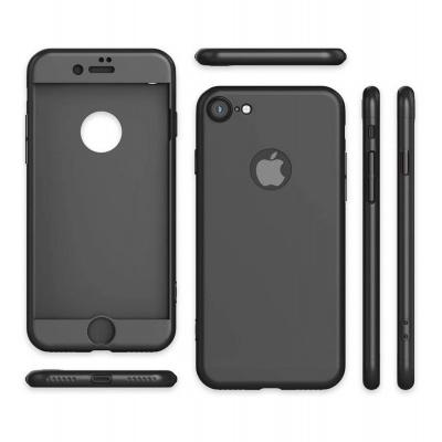 iPhone 7/8 Capa Slim 360º Full-Body GKK + Vidro Temperado