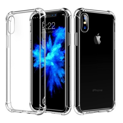 iPhone 7/8 Capa Silicone Anti-Shock 100% Transparente