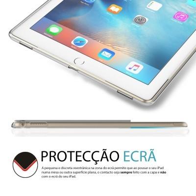 Capa Fina Silicone para iPad Pro 12.9'' - Transparente Mate