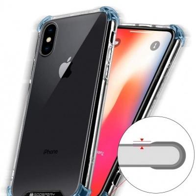 iPhone XR Capa Goospery Super Protect 100% Transparente