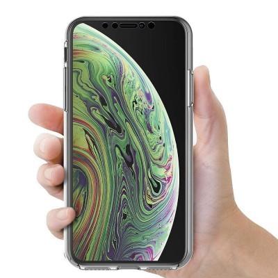 iPhone X/XS Capa 360º Silicone Transparente