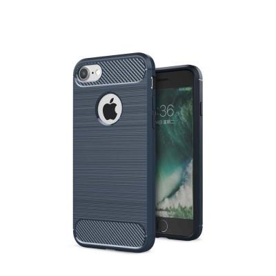 iPhone 7/8 Capa Silicone Carbono Híbrida