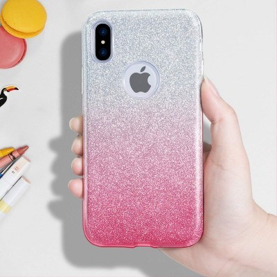 iPhone X/XS Capa Silicone Gradient Bling