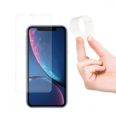 Películas de Protecção de Ecrã Ultra-Finas em Vidro Temperado Nano Flex HD+ iPhone XR