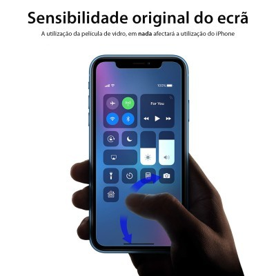 Películas de Protecção de Ecrã em Vidro Temperado Wozinsky HD iPhone XR