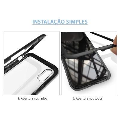 iPhone XR Capa Magnética 360º Wozinsky Premium