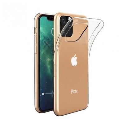 iPhone 11 Pro Max Capa Fina Proda Silicone 100% Transparente
