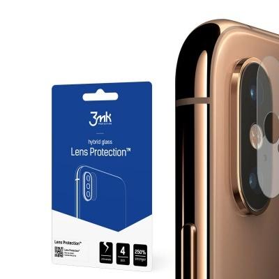 Películas de Protecção de Câmara Traseira 3MK FlexibleGlass (Pack 4) para iPhone XS Max