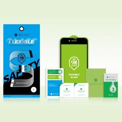 Películas de Protecção de Ecrã Ultra-Finas em Vidro Temperado Full-Cover Nano Flex Hybrid iPhone 11
