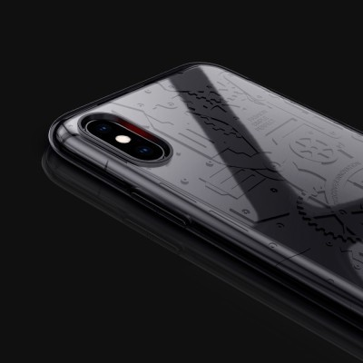 iPhone XS Max Capa Dual Layer Nillkin Machinery