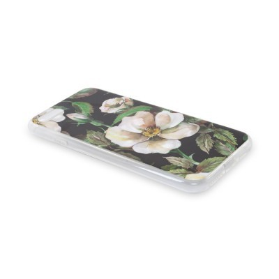 iPhone XR Capa Silicone Autumn Flower