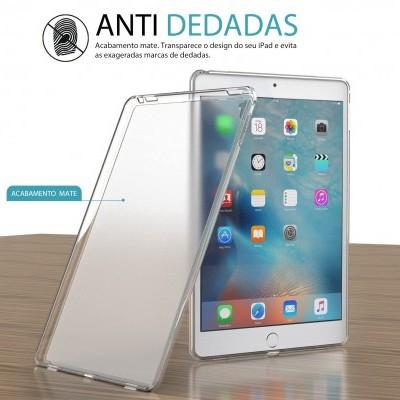 Capa Fina Silicone para iPad - Transparente Mate