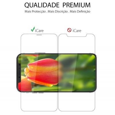 Películas de Protecção de Ecrã Ultra-Finas em Vidro Temperado Nano Flex Hybrid iPhone 11 Pro