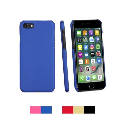 iPhone 7/8 Capa Fina Frosted Rígida + Película Ecrã