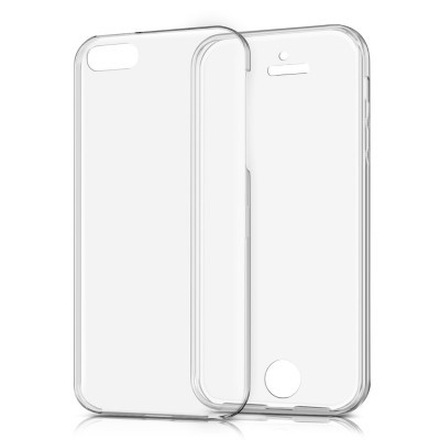 iPhone 5/5S/SE Capa 360º Silicone Transparente