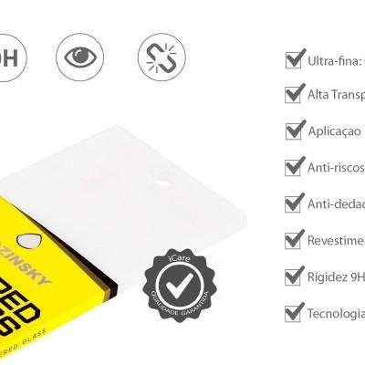 Películas de Protecção de Ecrã Ultra-Finas em Vidro Temperado Nano Flex HD+ iPhone 7/8