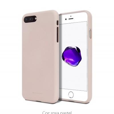 iPhone 7/8 Plus Capa Fina Silicone Soft Feeling Goospery