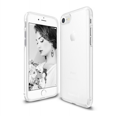 Capa Rígida Ultra-Fina Transparente Ringke Slim para iPhone SE