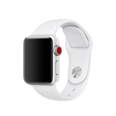 Apple Watch - Bracelete desportiva branca (38mm)