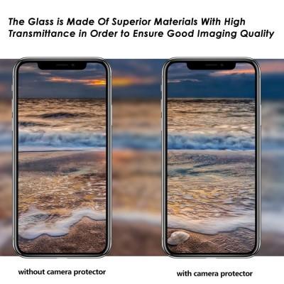 Películas de Protecção de Câmara Traseira (Pack 3) em Vidro Temperado iPhone XS Max